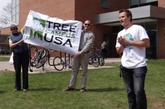 Development - Tree Campus USA - Arbor Day 2014 1