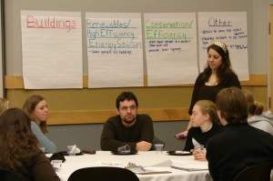 An ad hoc student group was also formed to provide advice during the formation of the Climate Action Plan.