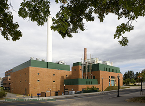 The Co-Generation Plant, which houses the cogeneration technology, is located centrally on the UConn Storrs campus.