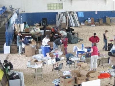 Give and Go 2009 Sorting