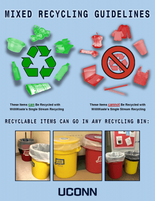 Initiatives - Recycling - Recycling Guidelines - RecyclingPoster_Dorm2016
