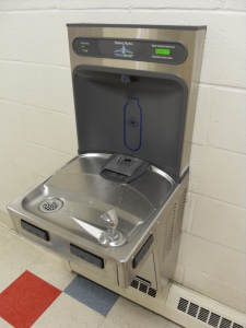 Water Bottle Refill Station