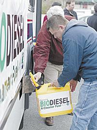 Transportation - Biodiesel - candid