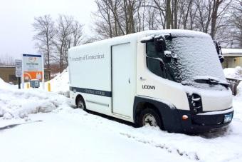Transportation - Electric Vehicles - Van